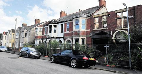 DECISION: The homes in Newport's Marlborough Road which will now be knocked down