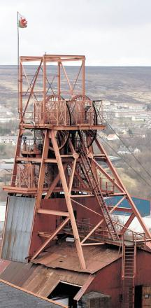 STRIKE: Staff at the Big Pit National Coal Museum in Blaenavon are among those who will stop work today