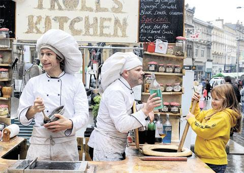 South Wales Argus: FOOD FUN: Organisers hope to repeat