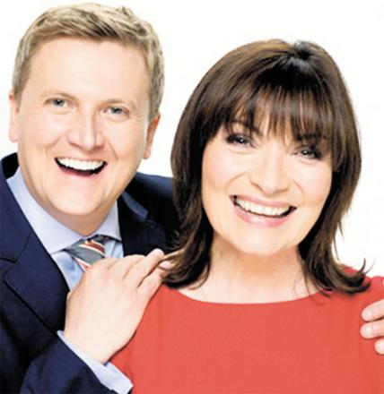 NEW TEAM: Aled Jones and Lorraine Kelly