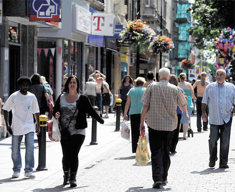 Traders and shoppers 'lacking confidence' in Newport city centre future