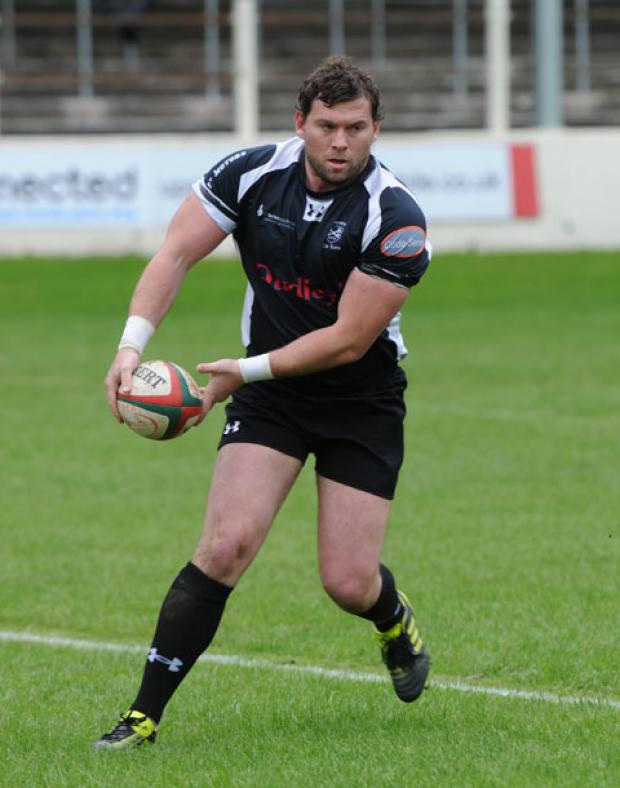 South Wales Argus: GOOD TO BE BACK: Keys hooker Garry Horrigan impressed on his return after a long lay-off through injury