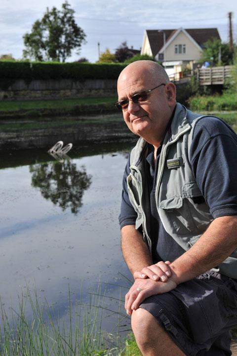 SADDENED: Manager of the Fourteen Locks Canal Centre in Rogerstone, Phil Hughes