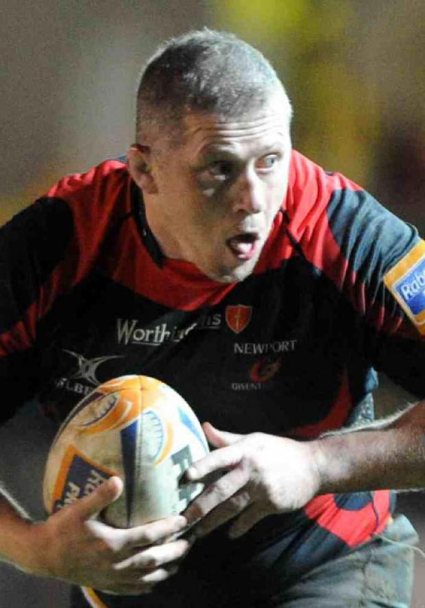 South Wales Argus: INJURED BUT HOPEFUL: Dragons hookers Steve Jones, above, and Hugh Gustafson should be fit for the trip to Munster this weekend