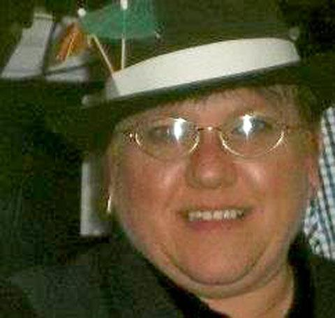 CHARACTER: Kim Buckley, who was killed in the blaze in Coed Eva today