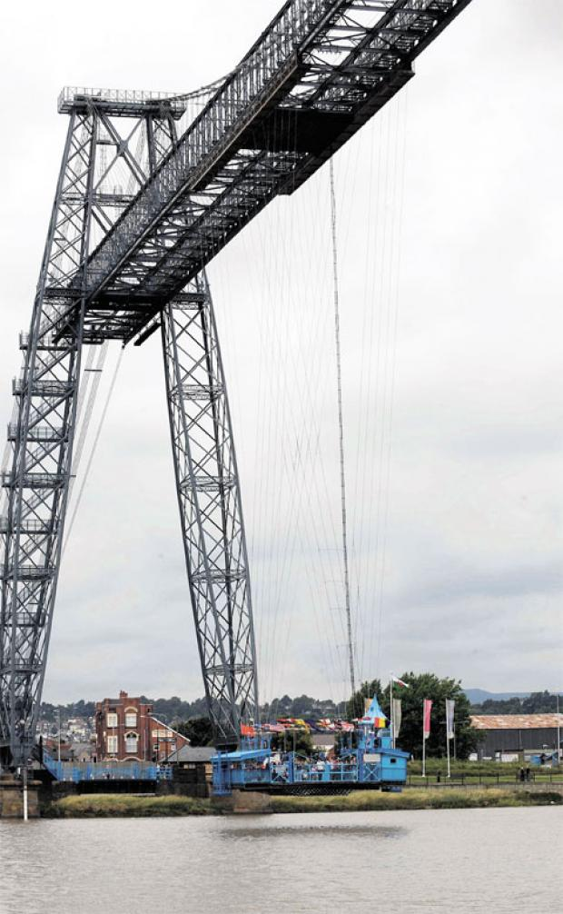 TO CLOSE FOR WINTER: Newport's Transporter Bridge
