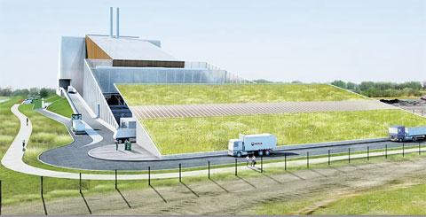 SET FOR APPEAL: An artist's impression of the Veolia site