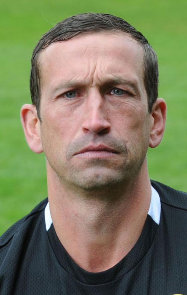 NOT HAPPY: County boss Justin Edinburgh