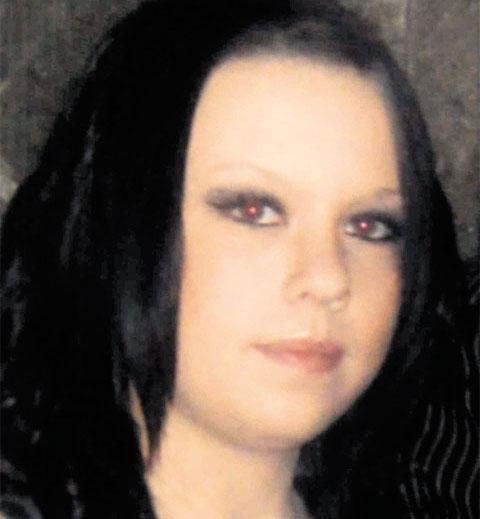 MISSING: Sammy Edwards who left the Royal Gwent Hospital hours after giving birth