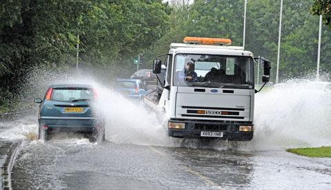 Flooding feared in Wales ahead of heavy rain