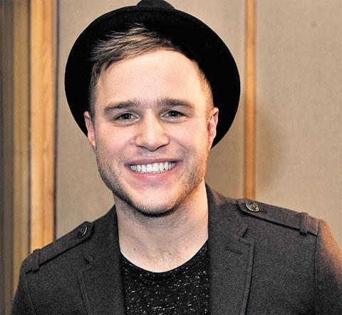 NEWPORT APPEARANCE: Olly Murs