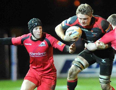 READY FOR BATTLE: Dragons captain Lewis Evans knows the importance of tonight's showdown