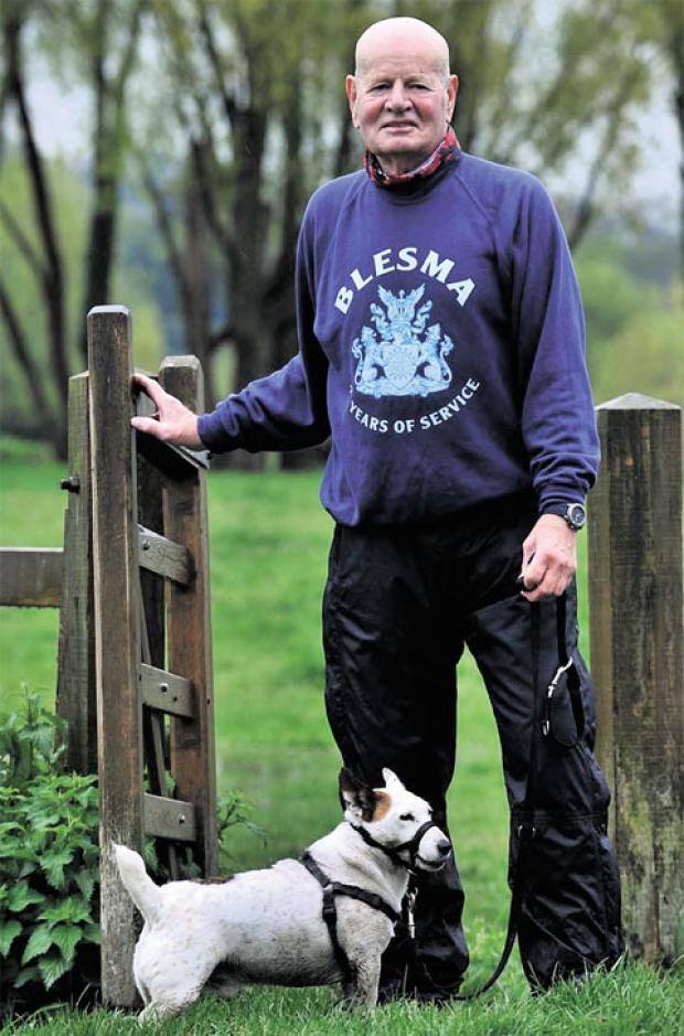 South Wales Argus: ANOTHER SPONSORED WALK: Ian Waddell has raised £200,000 over the last 30 years