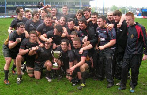 CHAMPIONS: Last season's Colleges League winners Coleg Gwent