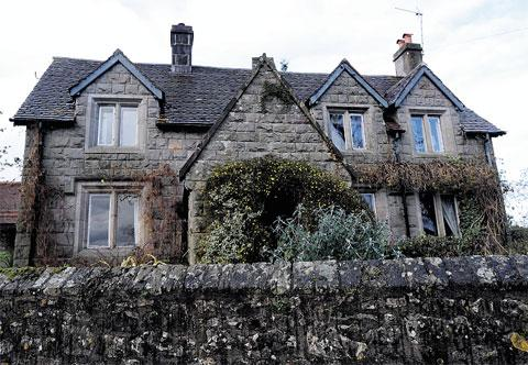INSPIRATION: The family home where JK Rowling lived as a child