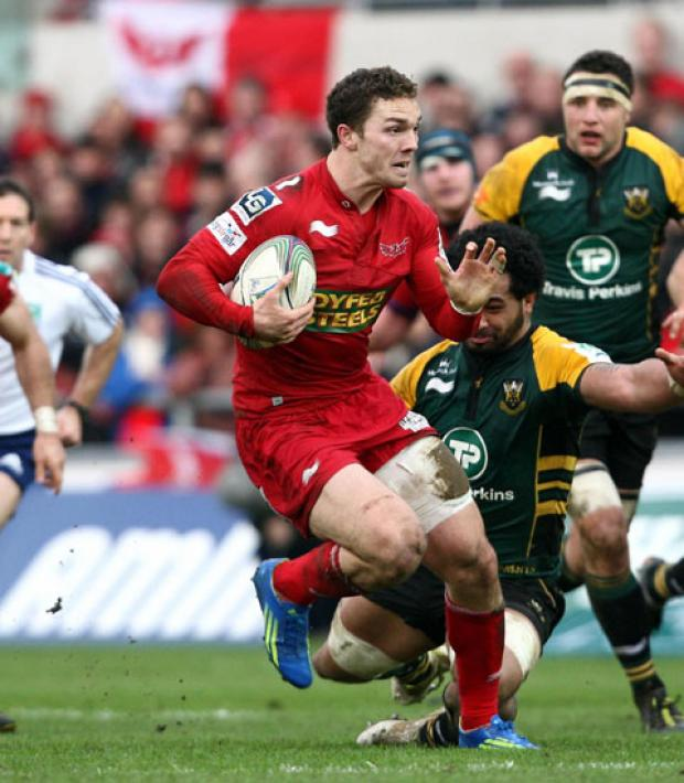 PROTECTED: Neither George North, above, nor Toby Faletau has started every game this season, a necessity as the regions look after their top talent