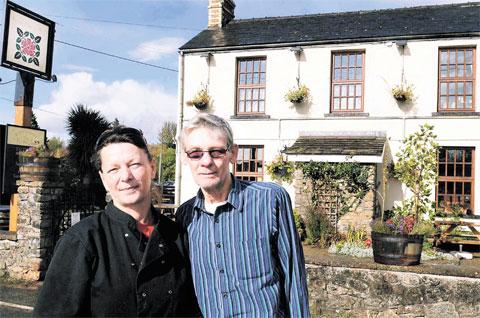 BEST STANDARDS: The award winning Rose Inn at Redwick run by Sarah McDonald and Gary Webb