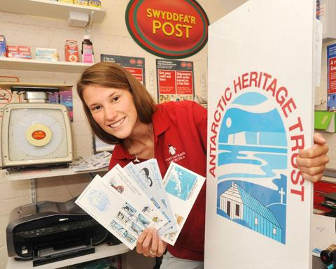 POLAR POSTIE: Florence Brown