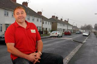 PRIZE GUY: Scott Quinnell will be handing out cash to winners of the People's Postcode Lottery in Newport