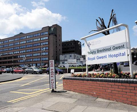 'COPING': Newport's Royal Gwent Hospital