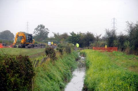 PUBLIC BODY: The Caldicot and Wentlooge Levels Internal Drainage Board manages the waters of the Gwent Levels