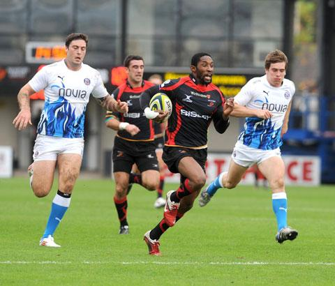 WELCOME RETURN: The talented Tonderai Chavhanga scored seven tries in 18 appearances in his inaugural season for the Dragons