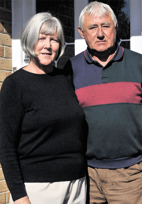 Missing Caldicot man's parents cling to hope despite their torment