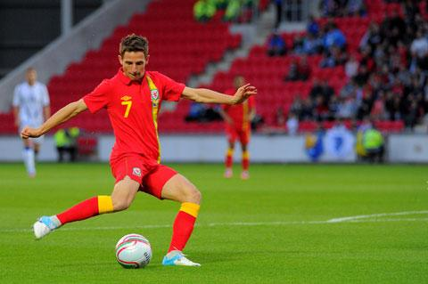 FAW PLAYER OF THE YEAR: Wales and Liverpool star Joe Allen