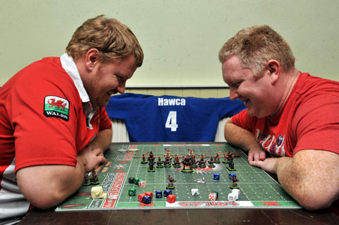 Newport pals fly Wales flag in Euro board game challenge