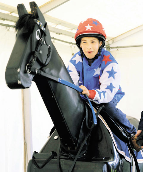 Thousands learn all about the horses at Chepstow racecourse