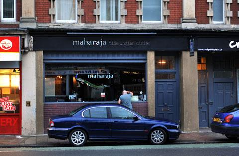 OPEN AGAIN: Maharaja restaurant on Clarence Place in Newport