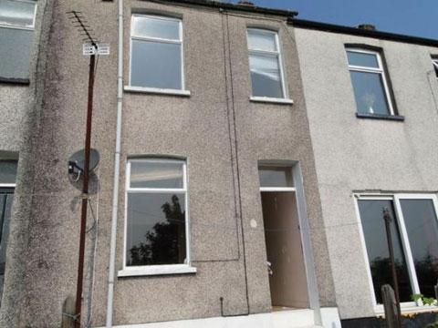 CHEAPEST PROPERTY: Upper Power Street, just off Barrack Hill, costing £52,500