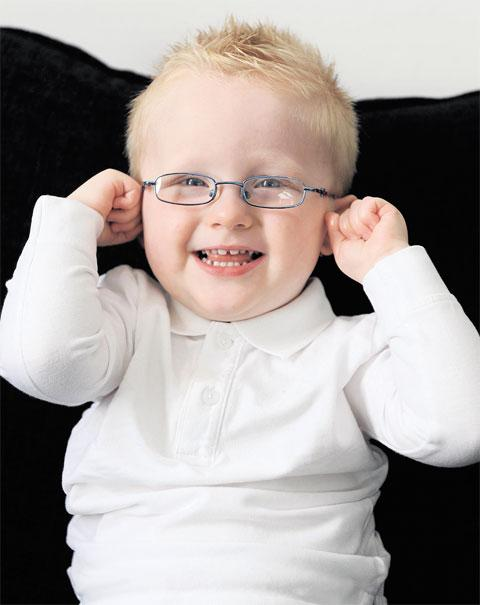 NEEDS YOUR HELP: Leo Dixon, aged two, of Newport, has been diagnosed as having cerebral palsy