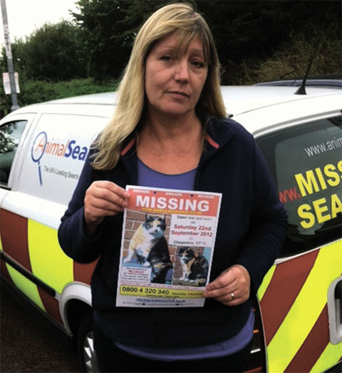 Chepstow woman spends £1000 on pet detectives to hunt for missing cat
