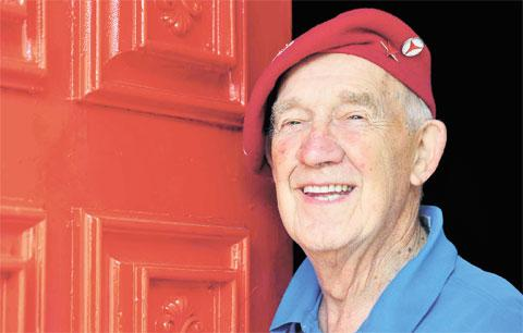 South Wales Argus: 'RED RAY': Cllr Ray Davies is always a colourful character