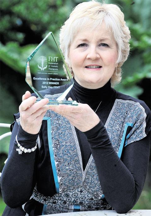NATIONAL AWARD: Complementary therapist Sally Kay