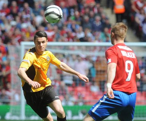 INJURY DOUBT: Newport County AFC defender Andrew Hughes
