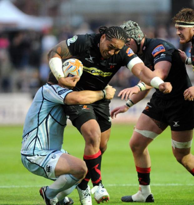 South Wales Argus: Power game: Dragons call for heavyweights