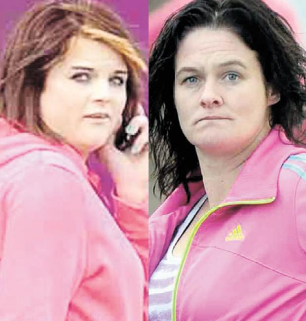 South Wales Argus: FRIENDS DISUNITED: Stephanie Skinner, left, and Claire McCarthy