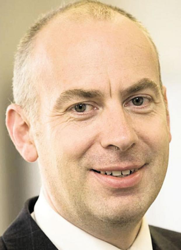 MAN AT THE TOP: Newport City Council's new chief executive Will Godfrey