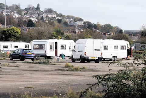 Newport gipsy site deal blocked - council