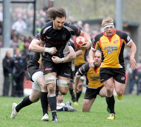 HE'S BACK: Cross Keys captain Rob Nash is back after his ban for being sent off last month against Pontypridd