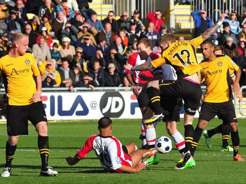 Sloppy defending leads to home slip for Exiles