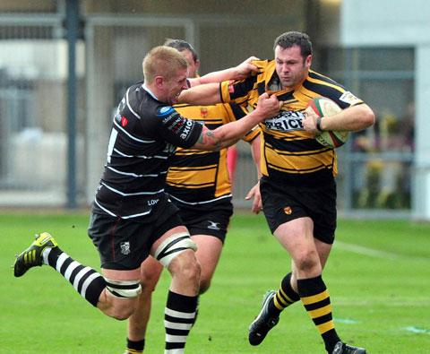 SUPERB: Prop Jamie Jeune was terrific for Newport