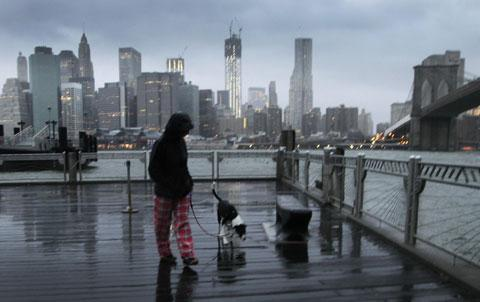 New York prepares for Hurricane Sandy