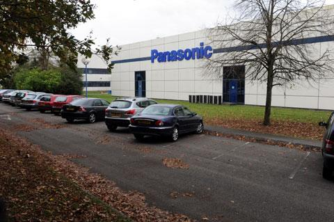 The Panasonic site in Duffryn