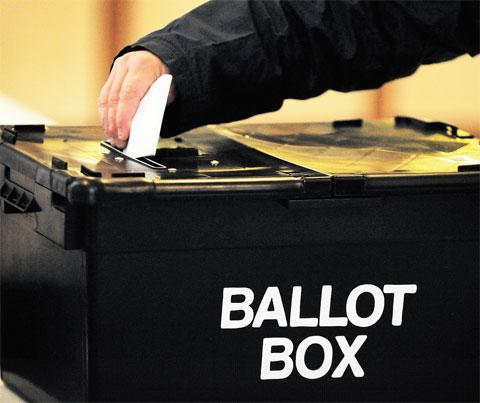South Wales Argus: PCC ELECTIONS: 'No-one votes' at Newport polling station