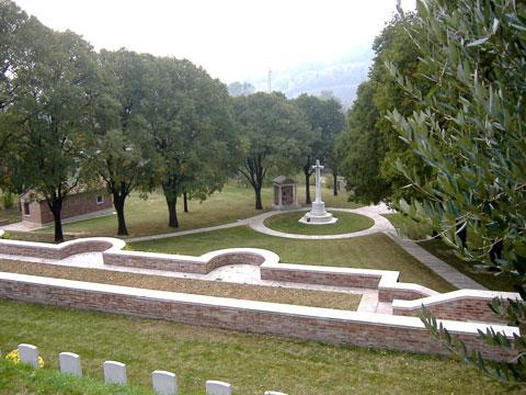 PEACEFUL: Gradara war cemetery in Italy. Picture courtesy of the Commonwealth War Graves Commission.