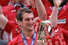 GRAND SLAM: Wales captain Sam Warburton with the Six Nations trophy