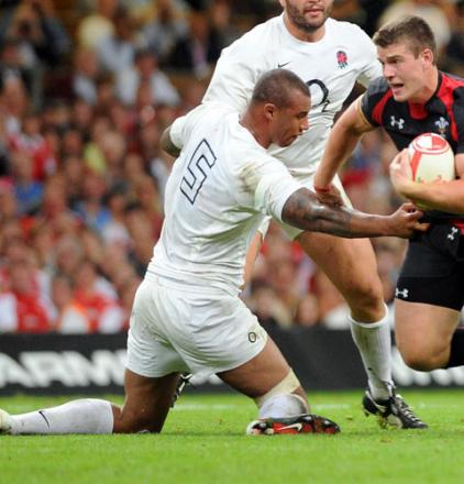 CLUB DUTY: England lock Courtney Lawes has been released to play for Northampton